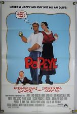 POPEYE FF ORIG 1SH MOVIE POSTER ROBIN WILLIAMS ROBERT ALTMAN (1980)