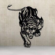 Panther black Leopard Tiger Art Design Sticker Wandtattoo Aufkleber  58x100 cm