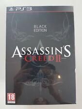 Assassins Creed 2 limitiert Black Edition selten Ezio Figur versiegelt uncut PS3