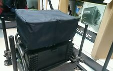 New Waterproof Plain Navy/Black Fishing Seat Box Cover to Fit Daiwa 500 [DW11]