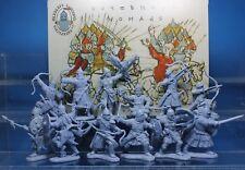 Inzhener Basevich Plastic Toy Soldier Nomads Warriors Golden Horde 23 1/32 54 mm