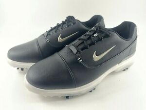 Nike Air Zoom Victory Pro Golf Shoes Leather AR5577-001 Black Men's Size 10 New