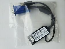 HP KVM USB Interface Adapter Cable, 336047-B21, Spare Part No: 396633-001