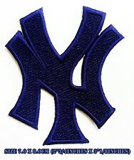 New York Yankees NY Blue Baseball Sport Embroidered Patch logo iron&sewing on