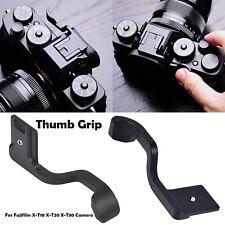 For Fuji Fujifilm X-T10 X-T20 X-T30 Camera Thumb Grip Thumb-Up Hot Shoe Black