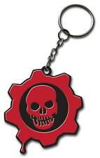GEARS OF WAR XBox Video Game CRIMSON OMEN RUBBER LOGO with METAL KEY CHAIN New