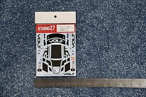 Studio 27 1:24 #7 IMSA Road America decals for Ford Mustang GT4 Tamiya  #DC1233