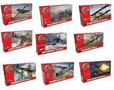 Airfix 1/72 model aircraft plane kits Spitfire Hurricane Messerschmitt Typhoon