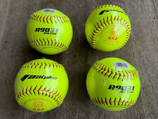 Wilson A9031 12-inch Fastpitch Softballs (4 unused wrapped balls)