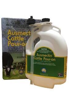 Ausmectin Cattle Drench Pour-On 2.5 Litre (Equiv Ivomec)