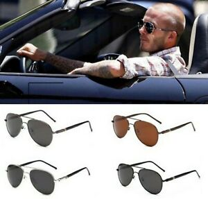 Herren Sonnenbrille Polarisiert Vintage Auto Brille HD UV400 Piloten Flieger