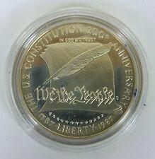 1987 S Constitution Silver Dollar