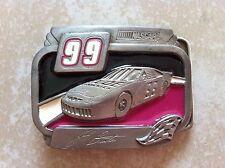 Vintage 1999 NASCAR Pewter Belt Buckle - Jeff Burton #99 - Limited Edition