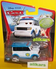 A - OFFICER MURAKARMI - #32 Chase Agent Disney Cars 2 film auto diecast car toy