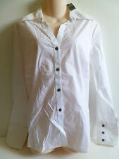 NEW Women's ATTENTION White Shirt Top size XL v-neck