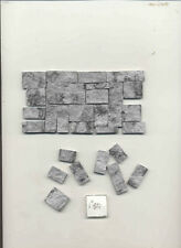Cut Stone Veneer Gray AM0725 1/12 scale model building cast plaster resin