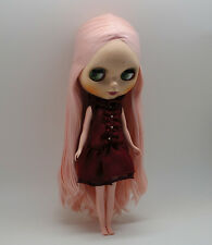 """Takara 12"""" Neo Blythe Doll Pink Hair Nude Doll from Factory  JSW3001"""