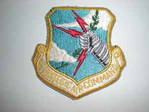 USAF STRATEGIC AIR COMMAND SAC PATCH - COLOR