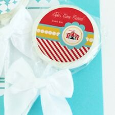 24 Circus Carnival Lollipops Personalized Lollipop Birthday Party Favors