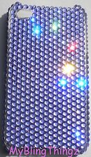 TANZANITE Crystal Rhinestone Back Case for iPhone 5 5S made w/Swarovski Elements