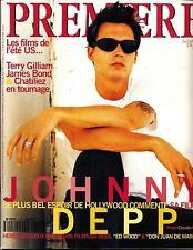 PREMIERE Nº220 JULIO 1995 JOHNNY DEPP/ BANDERAS/ CRUZ/ RAIMI/ WILLIS Y GILLIAM