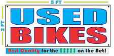 USED BIKES Banner Sign NEW Larger Size Best Quality for The $$$