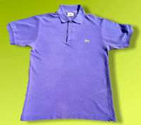 "Mens Lacoste Light Purple Shirt Size 2 P2P 18.5"" Small Medium"