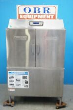 Hobart Commercial High Temperature Conveyor Dishwasher Model Cl44e With Electric H