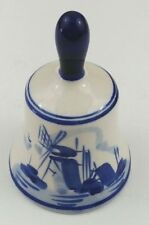 Dbl Crown Stamped Porcelain Miniature Bell Dutch Windmill 2 3/4 Replacement