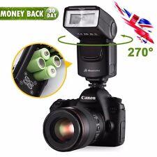 DF-400 Flash Gun Speedlite for Nikon & Canon DSLR Camera Pentax Fujifilm Olympus