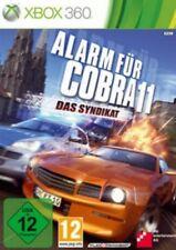 Xbox 360 ALARM FÜR COBRA 11 DAS SYNDIKAT * Sehr Guter Zustand