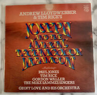 "Joseph And The Amazing Technicolour Dreamcoat 12"" Soundtrack Vinyl MFP50455 1979"