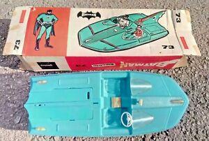 1967 GEOBRA 73 Batman Batboat Bat Boat SUPER RARE Made in West Germany