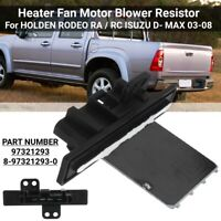Blower Motor Fan Resistor Heater Control Module For Holden Rodeo Isuzu D-MAX