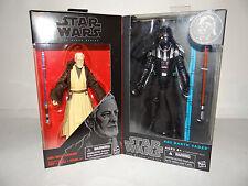 "Star Wars Black Series - OBI WAN KENOBI & DARTH VADER 6"" Action Figure set"
