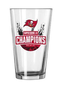 Tampa Bay Buccaneers Super Bowl LV Champions Pint Glass