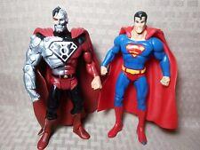 "DC Universe Classics 6"" Sinestro Corps Cyborg Superman + Normal Superman"