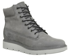 Womens Timberland Grey Leather Lace up Ankle Boots UK Size 4 *Ex Display
