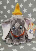Official Disney Baby Dumbo Small Soft Toy Plush by Rainbow Designs New Tagged