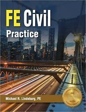 FE Civil Practice by Michael R. Lindeburg (2017, Paperback, New Edition)