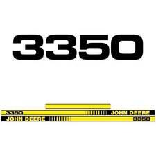 John Deere 3350 tractor decal aufkleber adesivo sticker set
