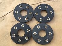 Set of 4 Rhino Bush Hog Hardee rotary cutter flex coupler rubber discs w bushing