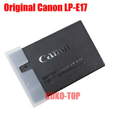 Genuine Canon LP-E17 Battery for EOS 750D 760D M5 M6 77D Rebel T6i T6s T7i SL2