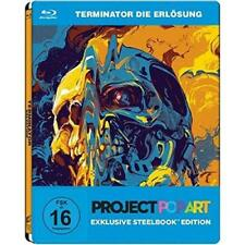 Terminator Salvation blu ray Steelbook  ( NEW )PROJECT POPART  English Audio