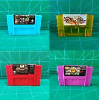 New Greate For Super Nintendo SNES Game Cartridge Best Games