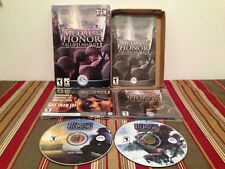 Medal of Honor: Allied Assault (PC, 2002) Case-discs & manual NO CD-KEY