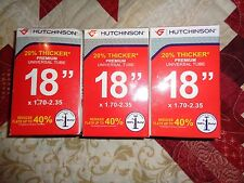 "Lot of 3 Hutchinson 18"" Premium Universal Tube 18 X 1.70-2.35"