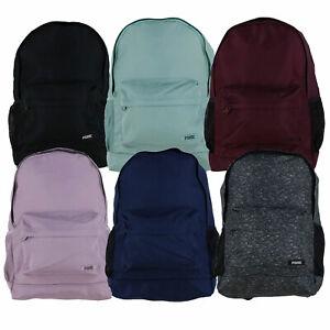 Victoria's Secret Pink Classic Backpack Bookbag Zip Pockets School Casual New Vs