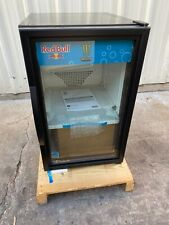 New listing True Gdm-06 commercial 1 door glass refrigerator cooler break room office donut