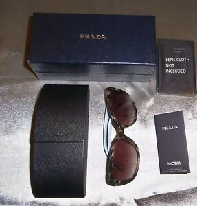 Prada Sunglasses, case and box